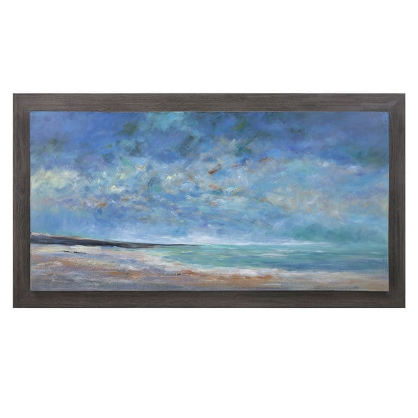 Sea of Dreams Wood Framed Oil Painting