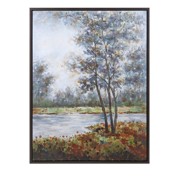 Natural Creation Framed Oil Painting