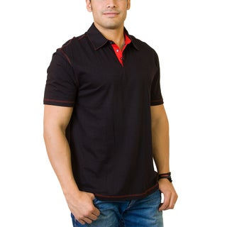 Steven Craig Men's Golf Shirt with Contrasting Trim