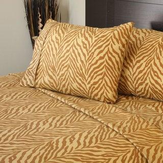 Winsor Home Series 1200 Sheet Set Tiger Print