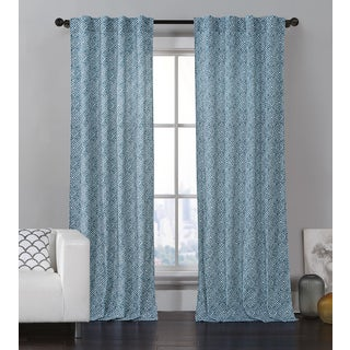 VCNY Glenwood Printed Curtain Panel Pair