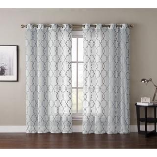 VCNY Chapman EMB Grommet Curtain Panel