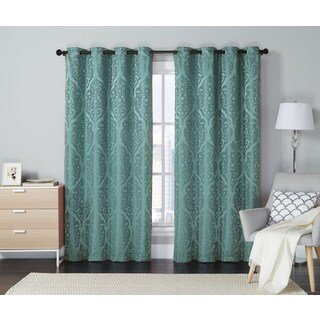 VCNY Amherst Grommet Jaquard Curtain Panel