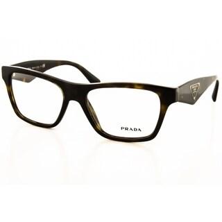Prada Pr 20qv Triangle Eyeglasses