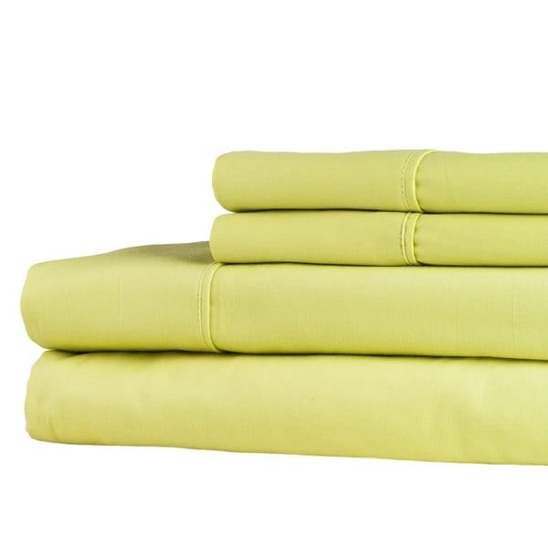 Windsor Home 100-percent Egyptian Cotton 300 Thread Count Sheet Set - Green