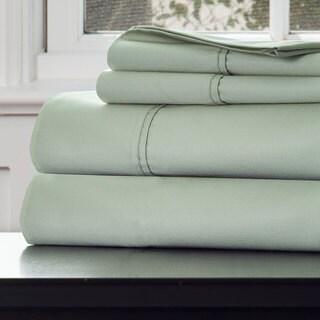 Windsor Home 1000 Thread Count Cotton Rich Sateen Sheet Set - King Green