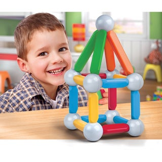 Discovery Kids 26-piece Magnetic Building Block Set