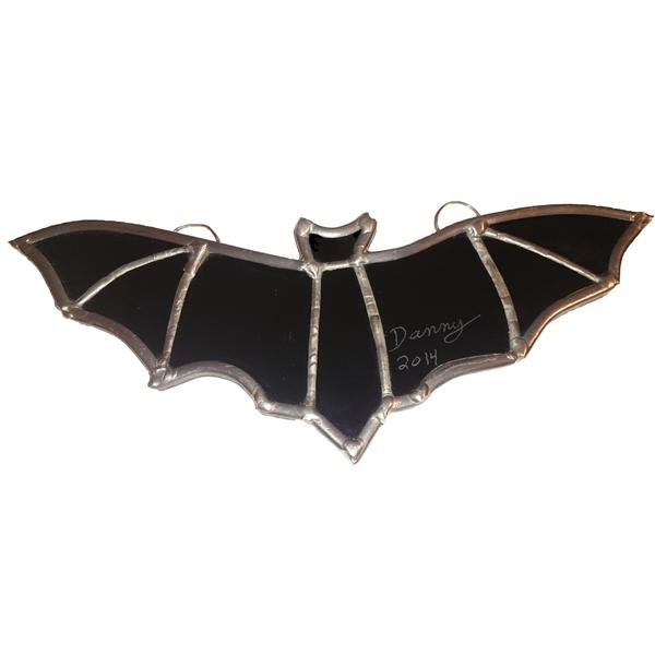 Stained Glass Halloween Bat Stained Glass Suncatcher