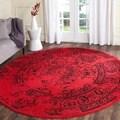 Safavieh Adirondack Red Rug (4' Round)