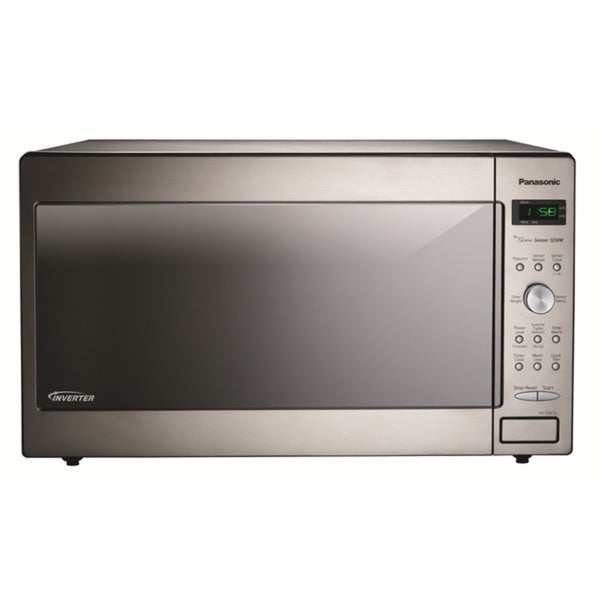 Panasonic 2.2-cubic-foot Stainless Steel Microwave (As Is Item)