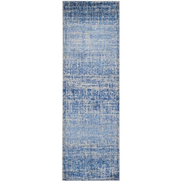 Safavieh Adirondack Modern Abstract Blue Silver Rug 2 6