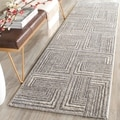 Safavieh Porcello Light Grey/ Dark Grey Rug (2'4 x 6'7)