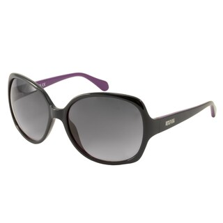 Kenneth Cole Reaction KC2724 Women's Black Rectangular Sunglasses