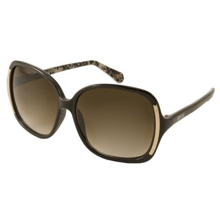 Kenneth Cole Reaction KC2723 Women's Brown Rectangular Sunglasses