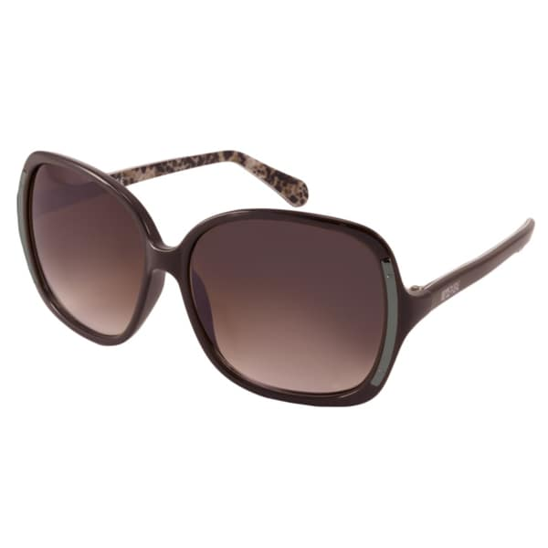 Kenneth Cole Reaction KC2723 Women's Burgundy Rectangular Sunglasses