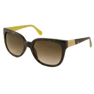 Kenneth Cole Reaction KC2729 Women's Brown Rectangular Sunglasses