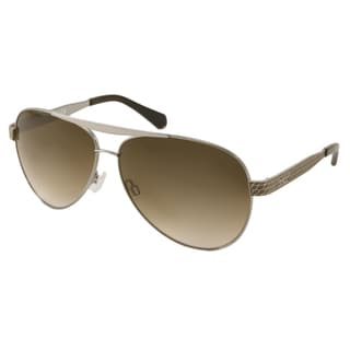 Kenneth Cole Reaction KC2736 Women's Silver Aviator Sunglasses