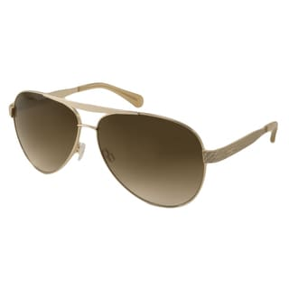 Kenneth Cole Reaction KC2736 Women's Gold Aviator Sunglasses