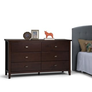 WYNDENHALL Stratford Bedroom Dresser and Media Cabinet