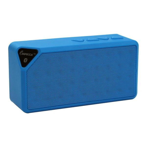 Impecca Portable Bluetooth Speaker with Aux Input