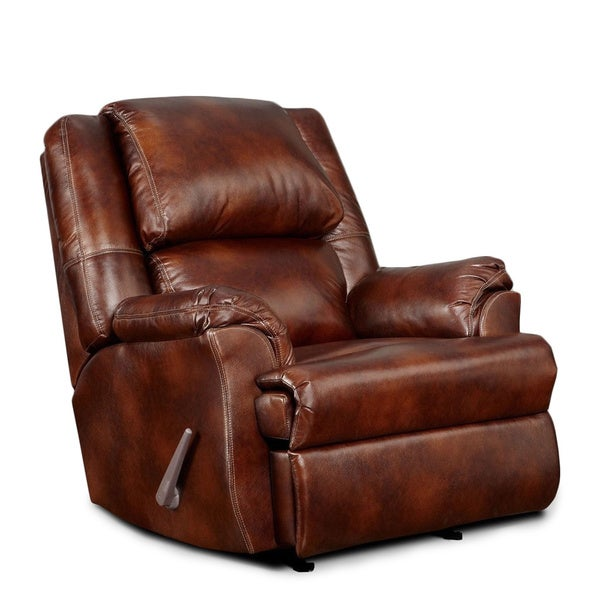 LYKE Home Chestnut Bonded Chair