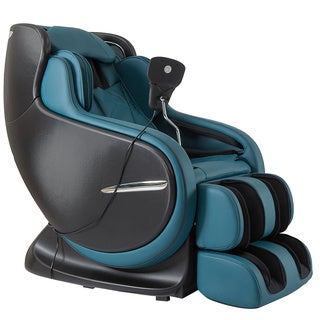 The Best 3D Kahuna Peacock Blue Massage Chair LM-8800