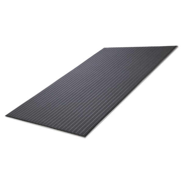 Crown Ribbed Black Anti-Fatigue Mat