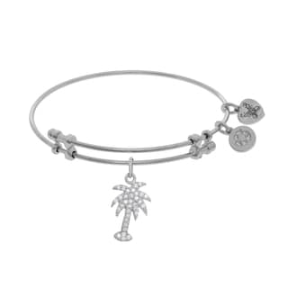 Angelica Palm Tree Charm with Cubic Zirconia