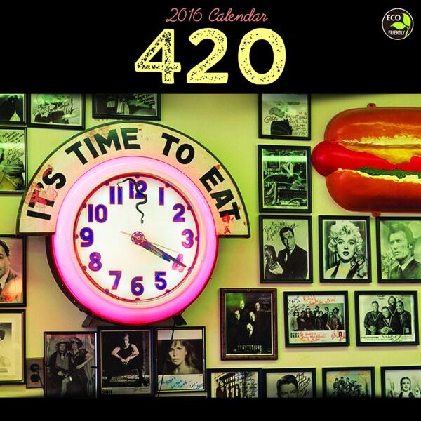 2016 420 Wall Calendar