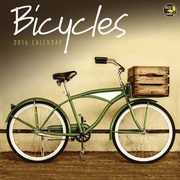 2016 Bicycles Wall Calendar
