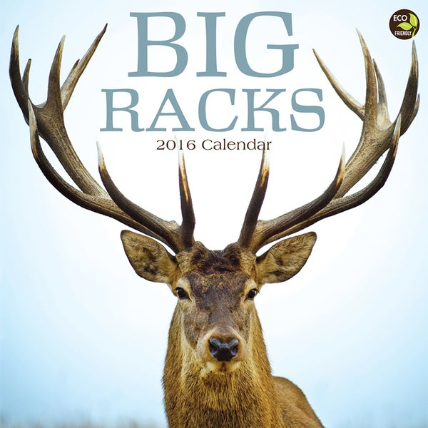 2016 Big Racks Wall Calendar