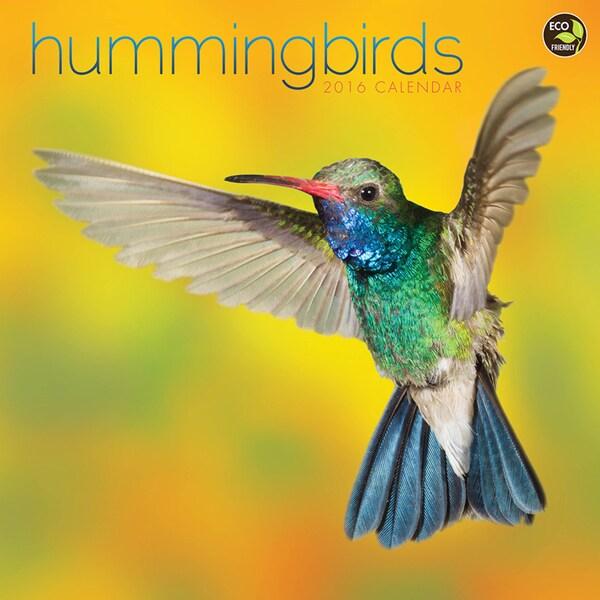 2016 Hummingbirds Wall Calendar