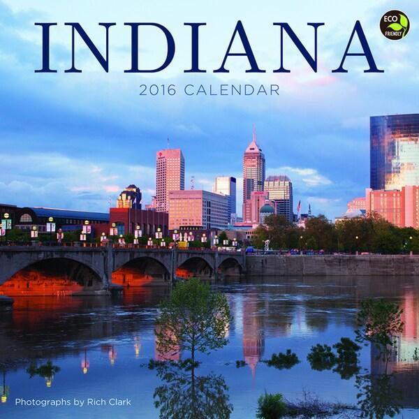 2016 Indiana Wall Calendar