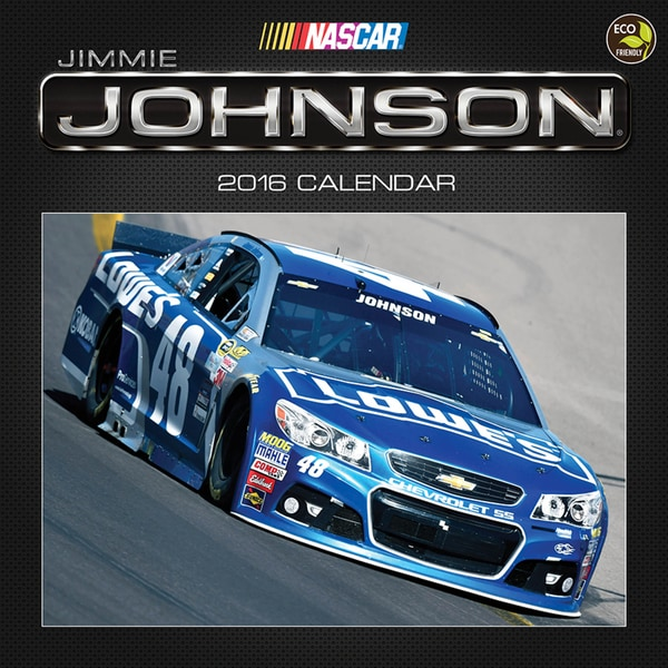 2016 Jimmie Johnson Wall Calendar