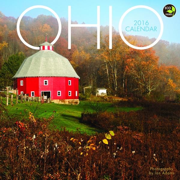2016 Ohio Wall Calendar