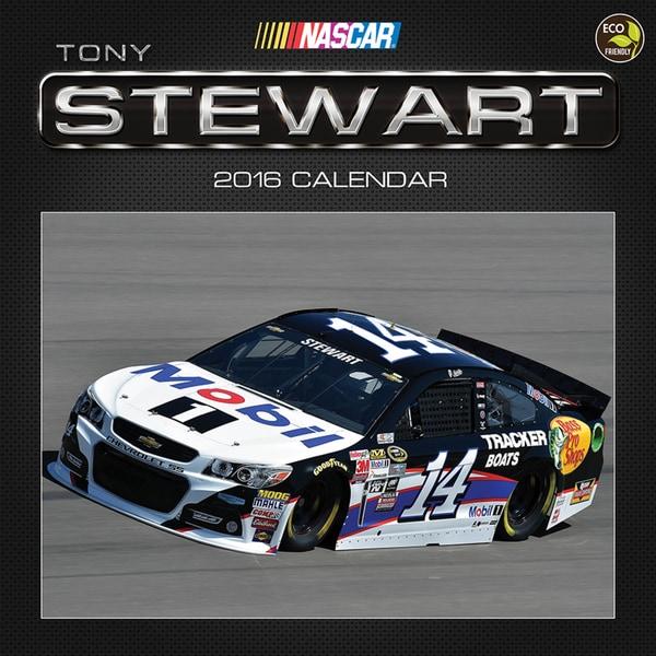 2016 Tony Stewart Wall Calendar