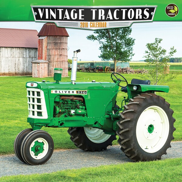 2016 Vintage Tractors Wall Calendar