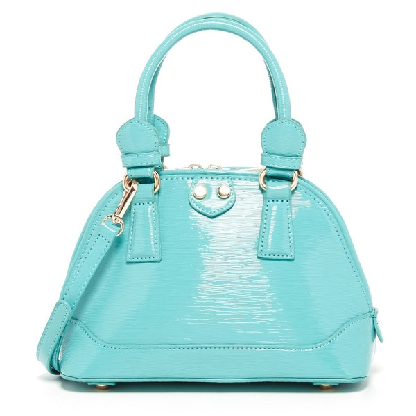 Pink Haley Sally Patent Mini Satchel