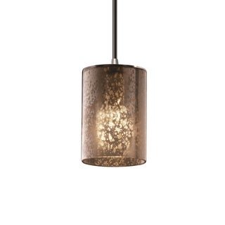 Justice Design Group Fusion 1-light Brushed Nickel Pendant