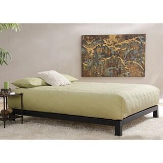 Motif Design Aura Deluxe Platform Bed - Black