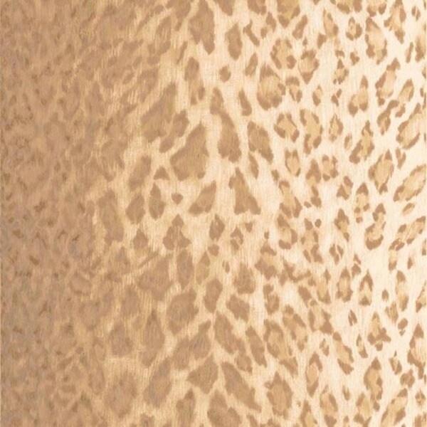 Beige Leopard Print Wallpaper