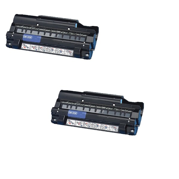 Brother DR200 Compatible Black Drum Cartridge for Brother MFC4300 4350 (Pack of 2)