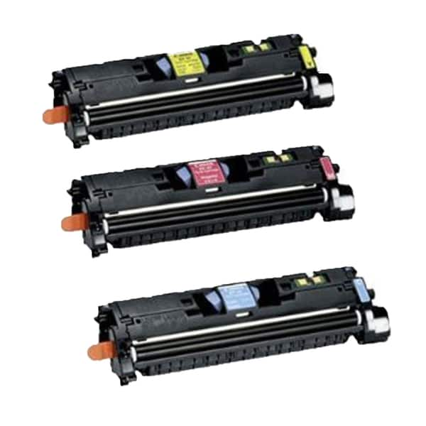 Canon EP-87 C M Y Compatible Toner Cartridge for Canon ImageClass 8180C (Pack of 3)