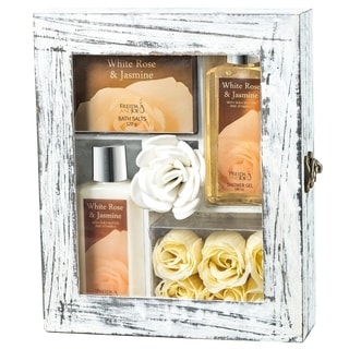 White Rose Jasmine Spa Gift Set
