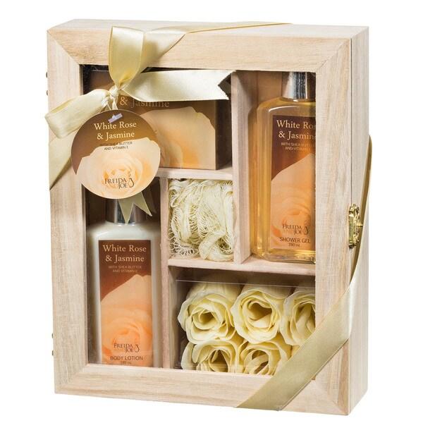 White Rose Jasmine Spa Gift Set