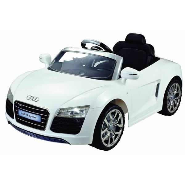 Audi R8 Spyder 12V White