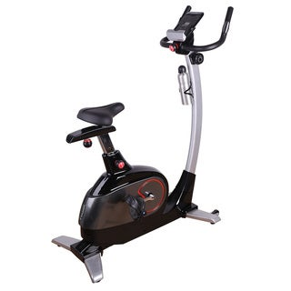 Fitleader Upright Bike Exercise Pro Indoor Cardio Bike Magnetic Resistance Stationary Foldable Cycling