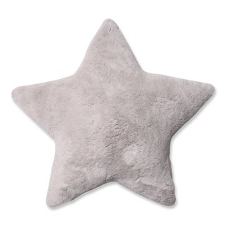 Pillow Perfect Plush Off-White Star 18-inch Pillow