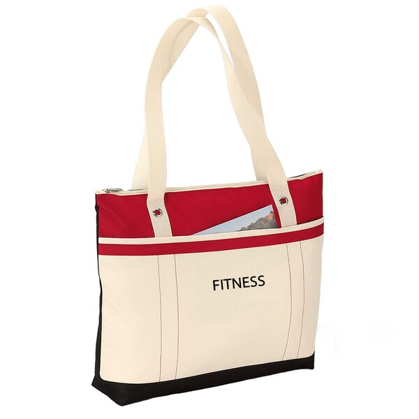 Fitness Fun 'Fitness' Travel Tote Bag