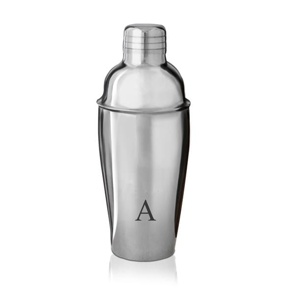 Monogrammed Cocktail Shaker